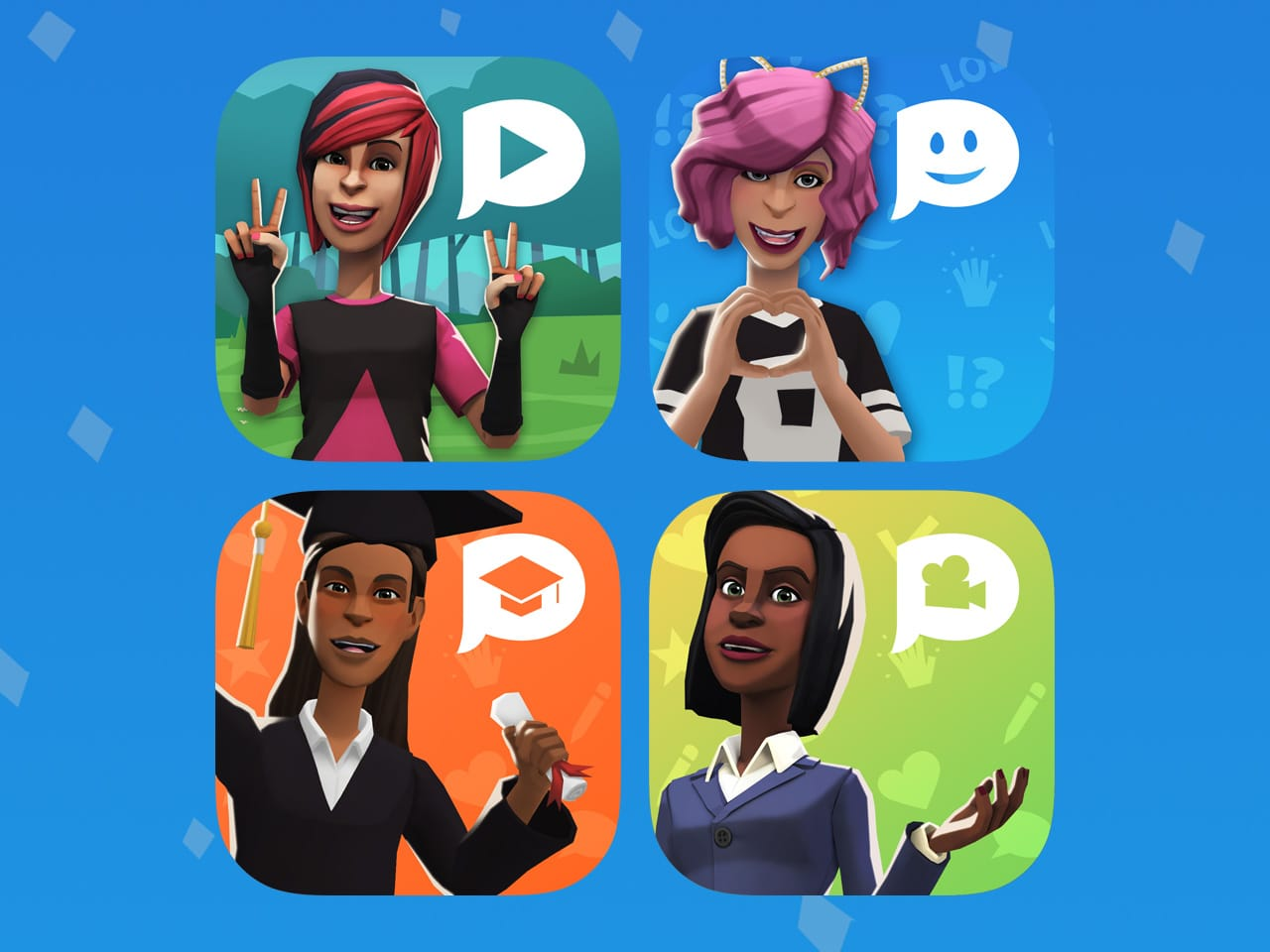 The Plotagon apps